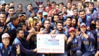 ওয়ালটন জাতীয় বেসবল প্রতিযোগিতায় বাংলাদেশ পুলিশ চ্যাম্পিয়ন