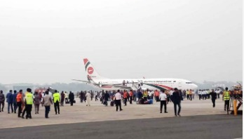 Ctg airport shut after hijack attempt