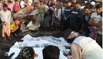 Eight burned to death in Chattogram fire