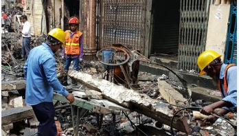 'There was a cache of chemicals inside buildings'