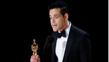 Rami Malek wins Oscar best actor for 'Bohemian Rhapsody'