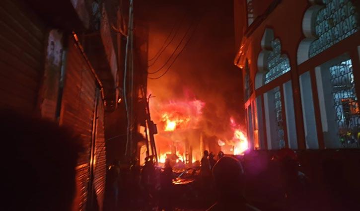 DU student burned dead