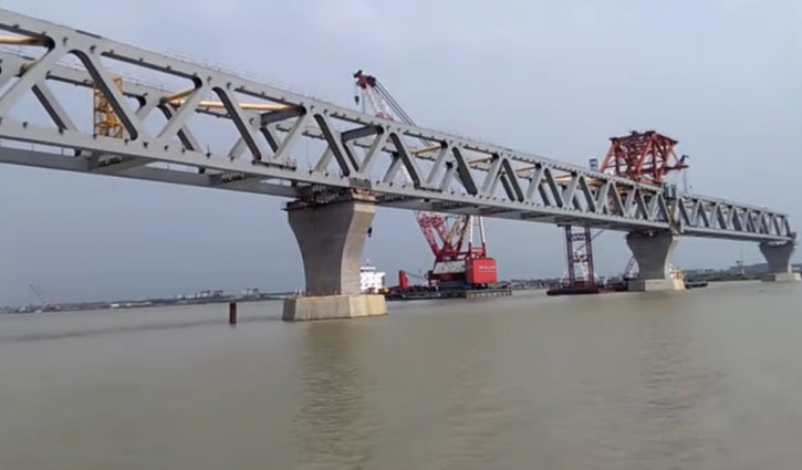 9th span of Padma Bridge won't be installed today