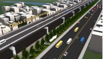 Elevated Expressway: 1st part to be completed by June
