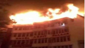 17 dead in Delhi hotel fire