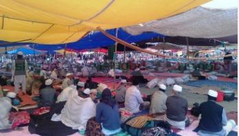 Akheri Munajat on Tuesday morning
