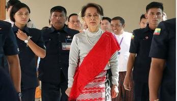Aung San Suu Kyi woos investors to crisis-hit Rakhine