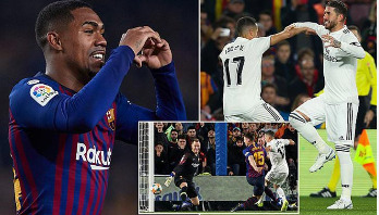 Barca draw with Real in Copa del Rey