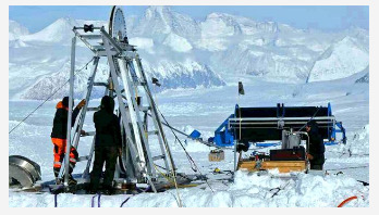 UK team drills record West Antarctic hole