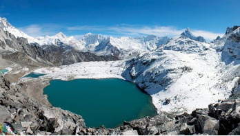 Warming threatens Himalayan glaciers