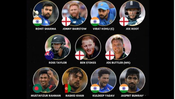 Mustafizur featured in ICC's ODI team of the year