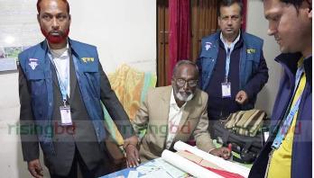 Land Office surveyor caught while taking bribe