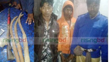 Two arrested with arms-bullets in Laxmipur