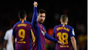 Messi scores 400th La Liga goal in Barcelona victory