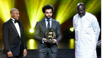 Mohamed Salah once again named African Footballer of the Year