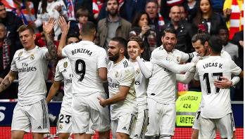Bale marks century of Real goals in Madrid derby