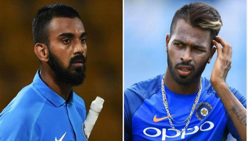 Pandya, Rahul banned by India