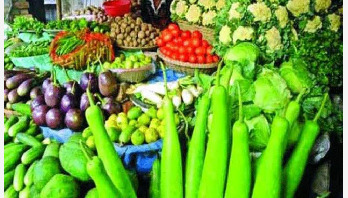 Vegetable prices fall on fresh supply