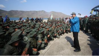 Venezuela crisis: Maduro defiant as pressure builds