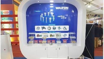 Walton displays 50 models of appliances at Int'l plastic fair