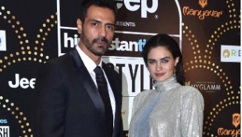 Arjun becomes father of girlfriend's baby boy