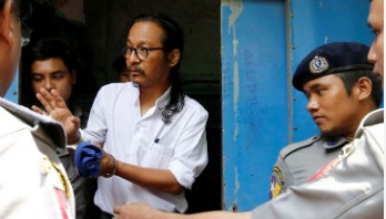 Myanmar filmmaker charged over military comment