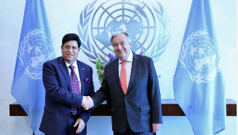Guterres assures support for resolving Rohingya crisis