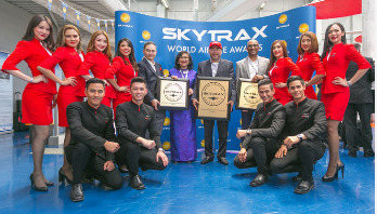 AirAsia wins world's best low-cost airline title