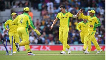Australia beat Lanka, top of World Cup table