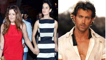 Hrithik's sister shows her support towards Kangana
