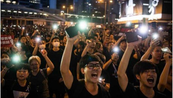 Hong Kong protest 'largest in decades'