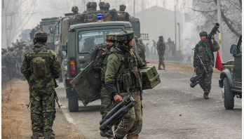 কাশ্মীরে গোলাগুলিতে ভারতীয় সেনা নিহত