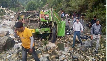 44 killed as bus plunges into gorge in India
