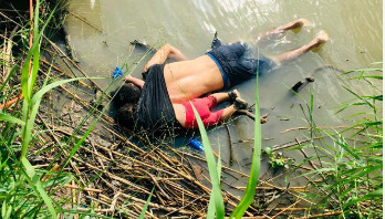 Woman watched her husband, daughter drown at Mexican border