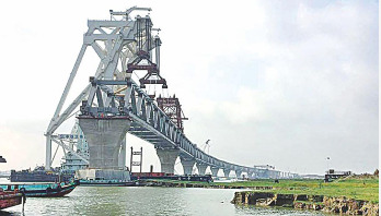 14th Padma Bridge span to be installed today