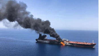 'Iranians fired missile at US drone prior to tanker attack'