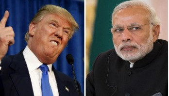 Trade war between US and India