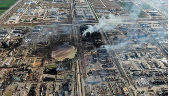 China chemical plant blast toll rises to 64