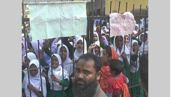 কুমিল্লায় সড়ক দুর্ঘটনায় ২ স্কুলছাত্রী নিহত