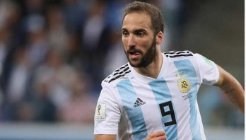 Higuain retires from Argentina nat'l team