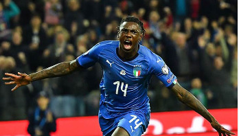 Kean becomes the youngest goalscorer for Italy