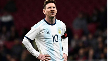 Messi ruled out of Argentina action with groin injury