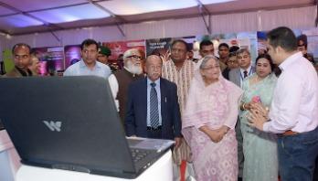 PM appreciates Walton products at industries fair