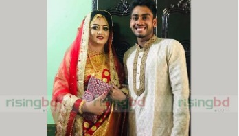 Miraz ties the knot with 5-yr girlfriend Preety