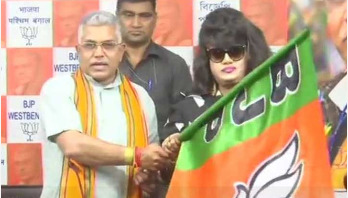 Bangladeshi actress Anju Ghosh joins BJP