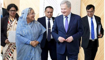 PM urges Finland businessmen to invest in Bangladesh