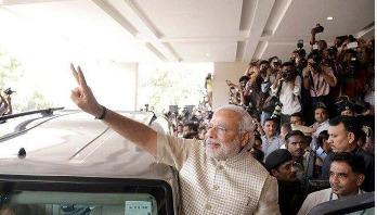 Modi wins landslide victory