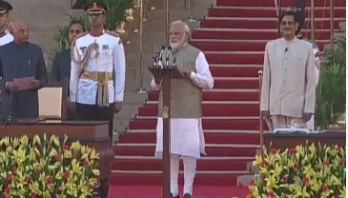 Modi takes oath as India's PM for second term