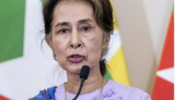 Suu Kyi afraid of growing Muslim populations