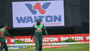 Tri-nation series: Bangladesh bowling against Ireland
